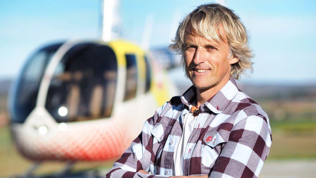 Jesús Calleja, presentador de 'Volando voy'.