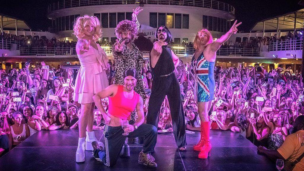 Los Spice boys, Los Backstreet Boys disfrazados de Spice Girls es lo mejor que vas a ver hoy