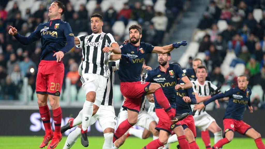 Imagen del partido de la jornada 21 de la Serie A italiana entre la Juventus y el Genoa celebrado el 22 de enero de 2018.