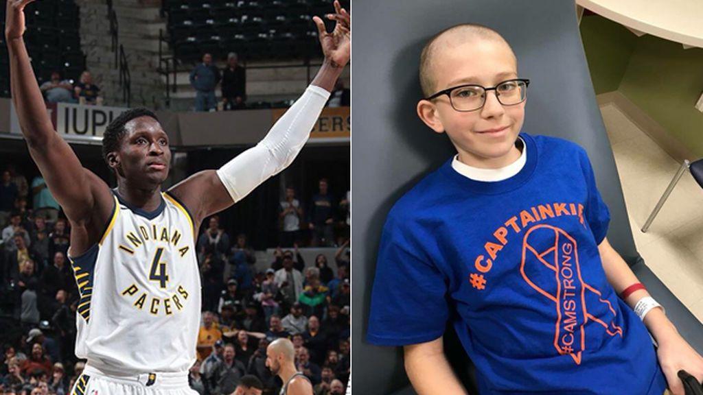 """La carta de Oladipo, jugador de la NBA, a un niño de 10 años con leucemia: """"Son momentos de temor, pero debes creer en ti mismo"""""""