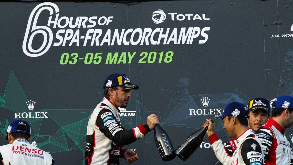 El espectacular accidente que no se vio en las 6 Horas de Spa que ha ganado Fernando Alonso
