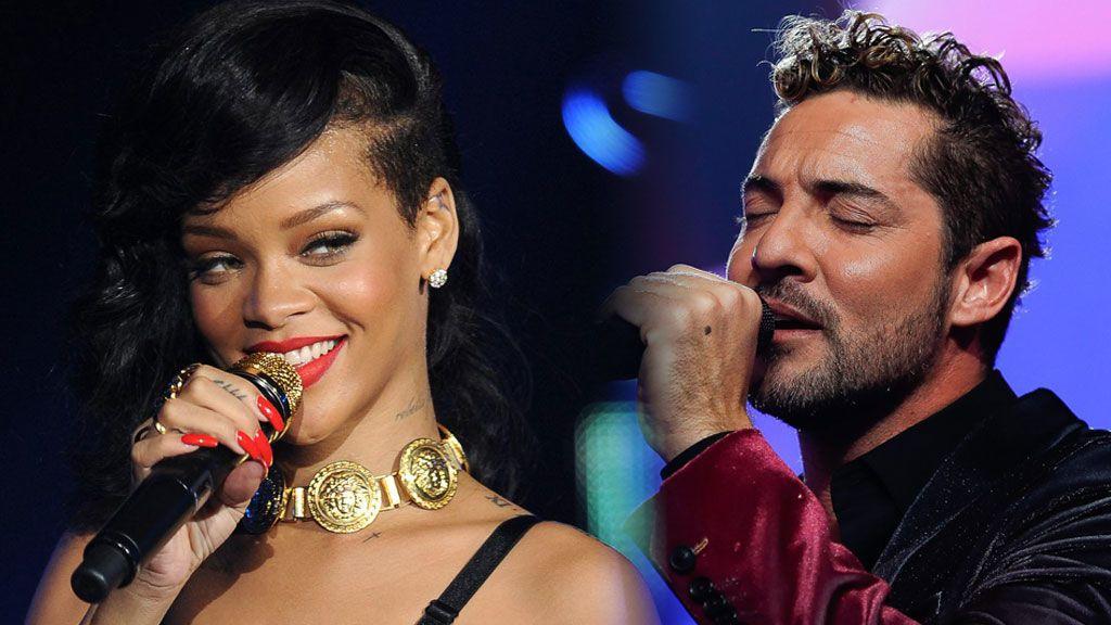 David Bisbal hace memoria y nos recuerda cuando compartió escenario con… ¡Rihanna!