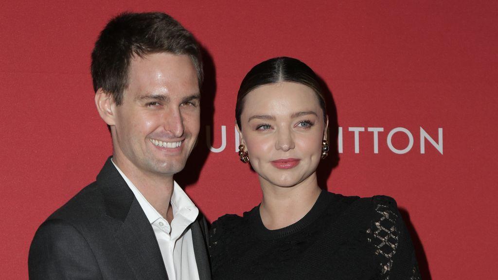 Miranda Kerr y Evan Spiegel, padres de su primer hijo en común