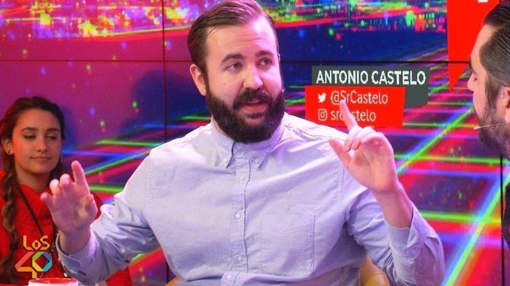Antonio Castelo, en 'Yu, no te pierdas nada' de Los40.