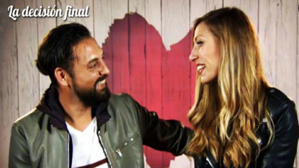 Cristian y Cristina volvieron a 'First Dates' para celebrar dos años juntos
