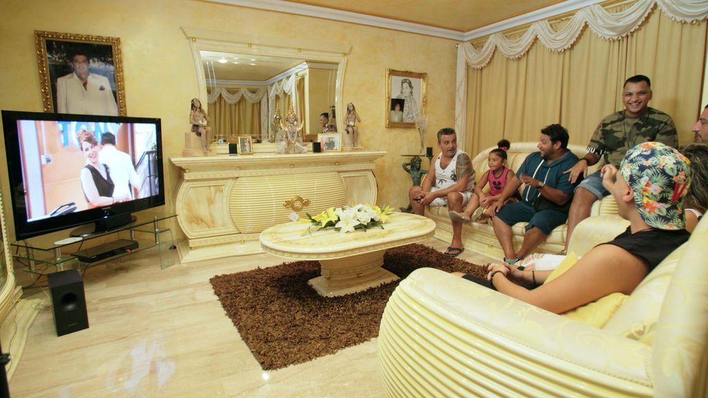 Los Fernández Navarro, en el cuarto episodio de los 'Los gipsy kings'.