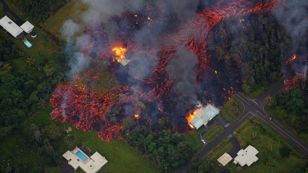 El volcán hawaiano Kilauea registra una erupción explosiva