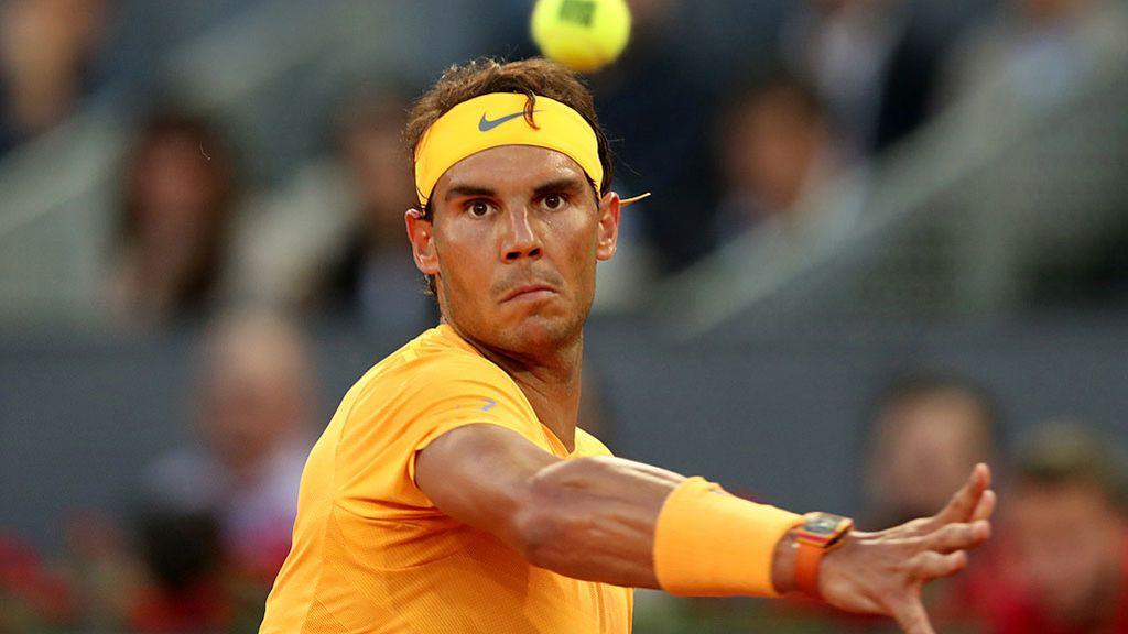 Nadal supera a McEnroe en sets ganados seguidos y pasa a cuartos en Madrid