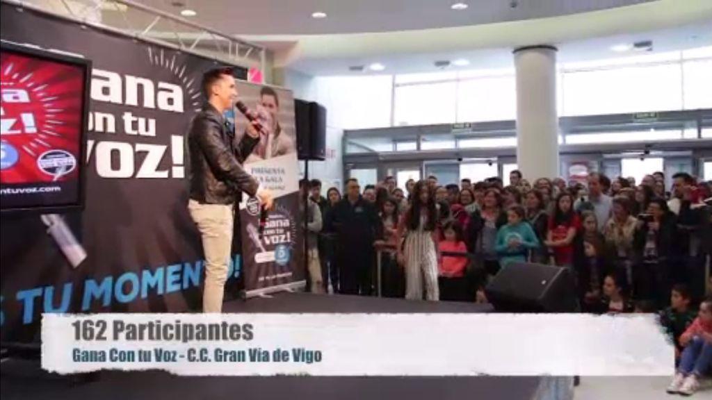 Vigo acogió una gran parada de 'Gana con tu voz' ¡Te lo contamos todo!