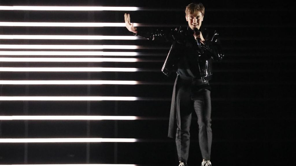 Suecia en la segunda semifinal de Eurovisión 2018.