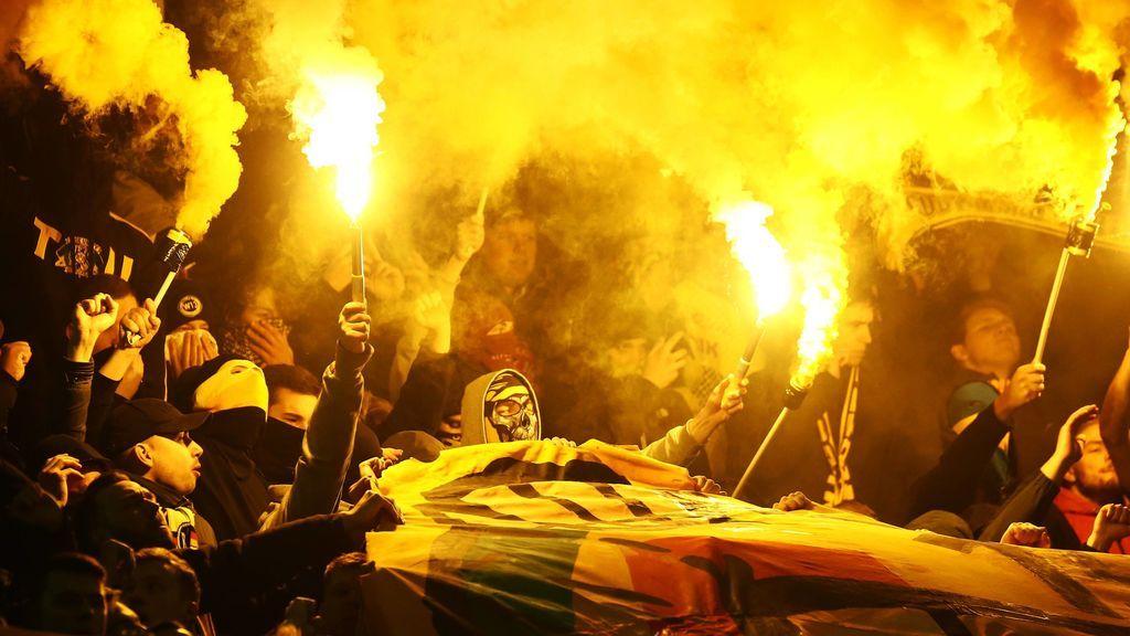 Sin Fan Zone y con un despliegue policial sin precedentes para evitar una 'batalla' entre ultras en la final de Lyon
