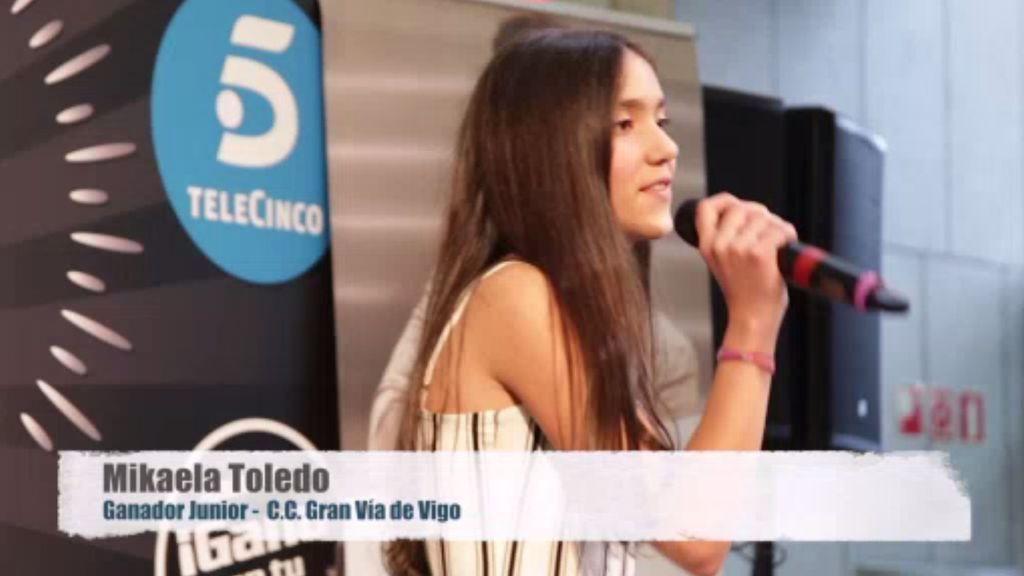 La actuación de Mikaela que la coronó como Ganadora Junior en Vigo