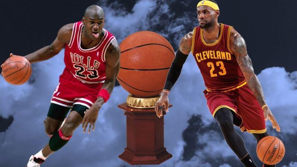 Michael Jordan o Lebron James: el debate sobre el mejor de la historia de la NBA que para muchos es sacrilegio