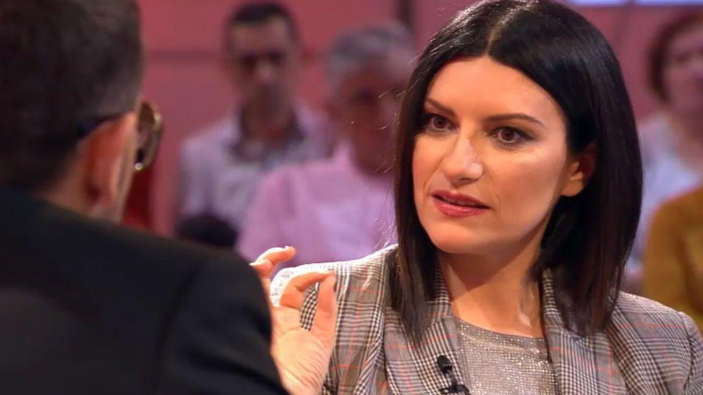 """Laura Pausini: """"Nunca he soñado con la fama; yo quería tener un hijo y ser arquitecto"""""""