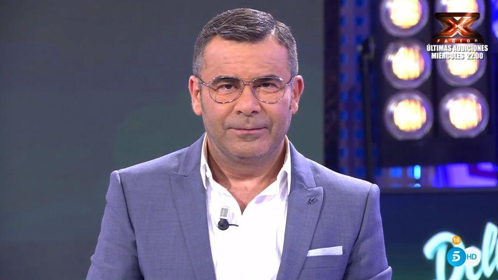 Jorge Javier Vázquez, en el plató de 'Sábado deluxe' el 6 de mayo de 2018.