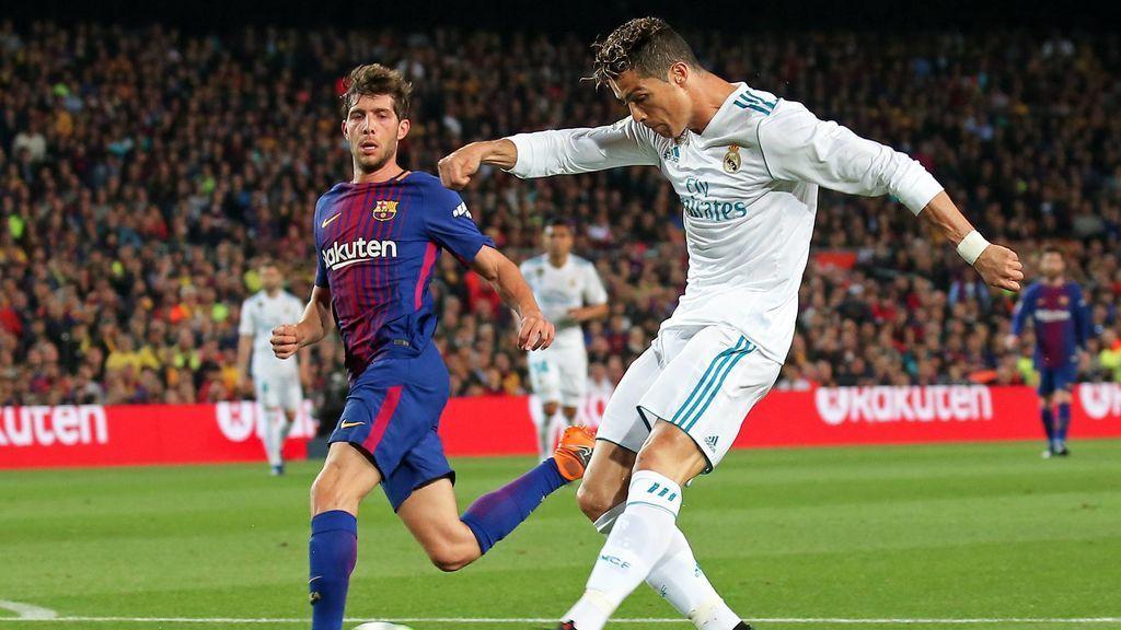 La Liga denuncia cánticos contra Sergio Ramos y Cristiano Ronaldo en el Clásico