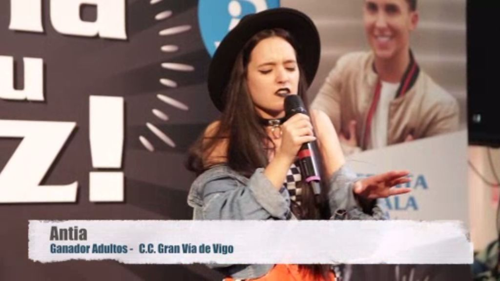 Antia embaucó a Vigo con su actuación en 'Gana con tu voz'