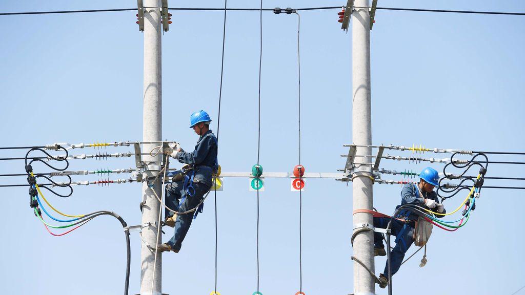 Instalación eléctrica china