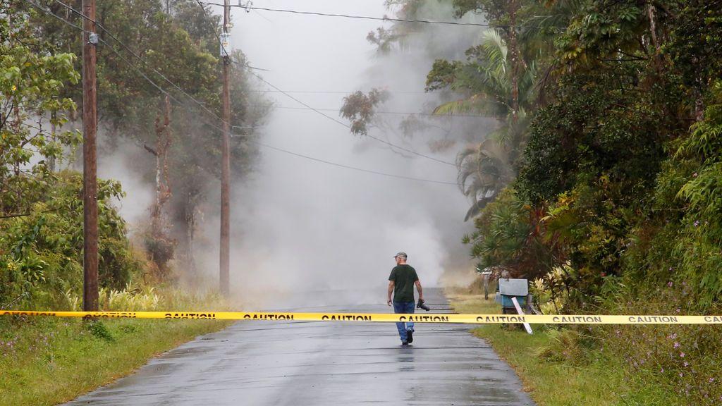 Hawái emite una alerta por el gas tóxico que puede ser mortal expulsado por el Kilauea