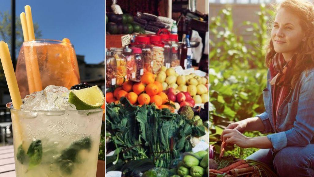 Comer respetando el medio ambiente: pajitas de pasta y otros 7 trucos para conseguirlo