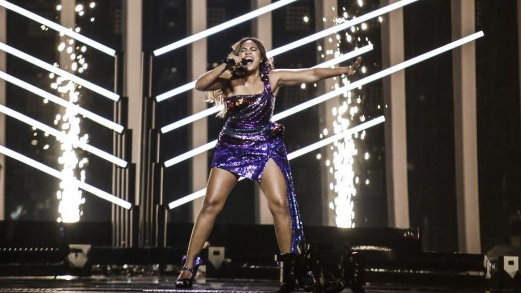 Australia en la segunda semifinal de Eurovisión 2018.