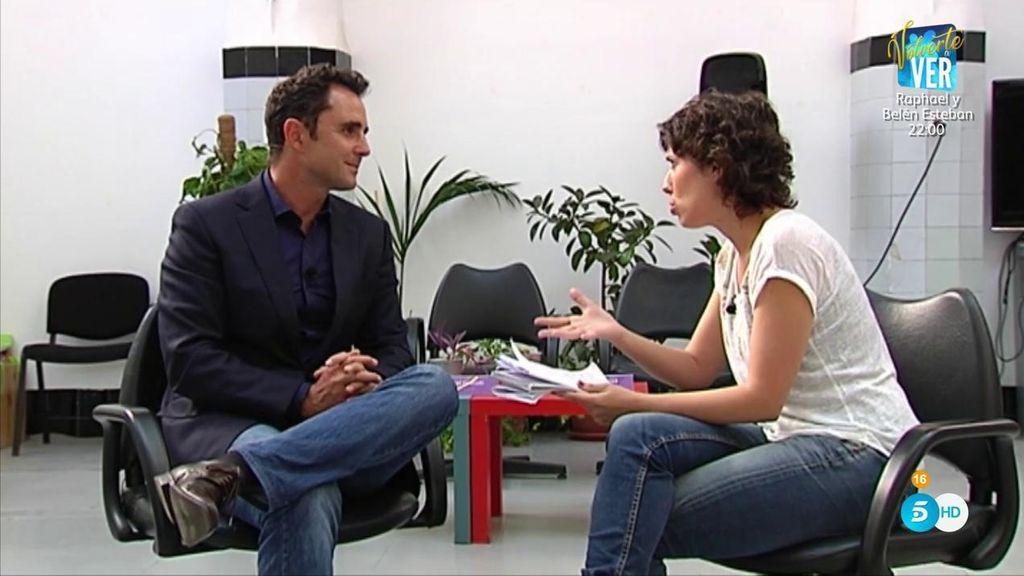 """Marta Nebot entrevista a Falciani: """"No me gustaría que me intercambiasen por Marta Rovira o Anna Gabriel"""""""