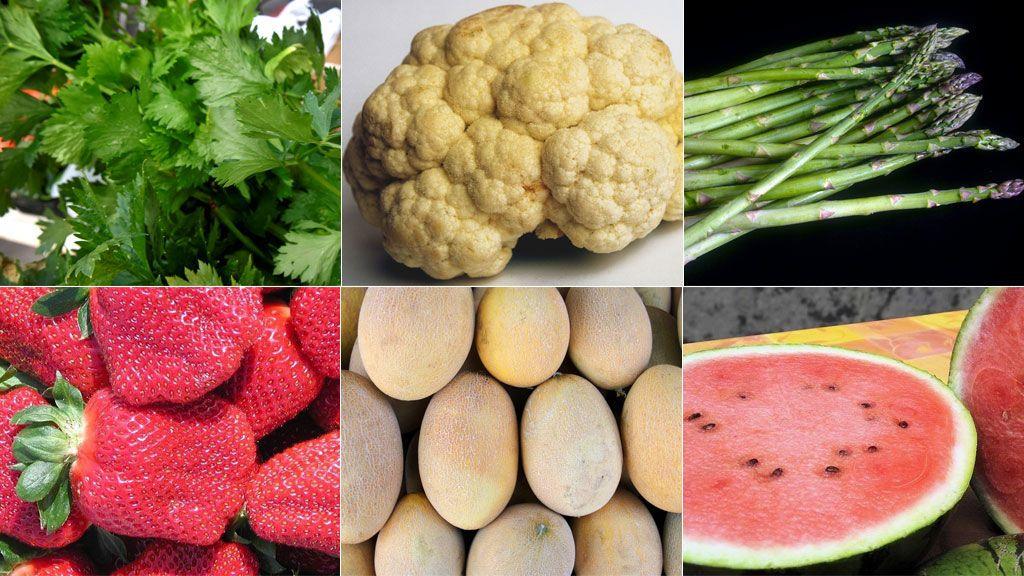 Seis alimentos sanos con menos de 50 calorías