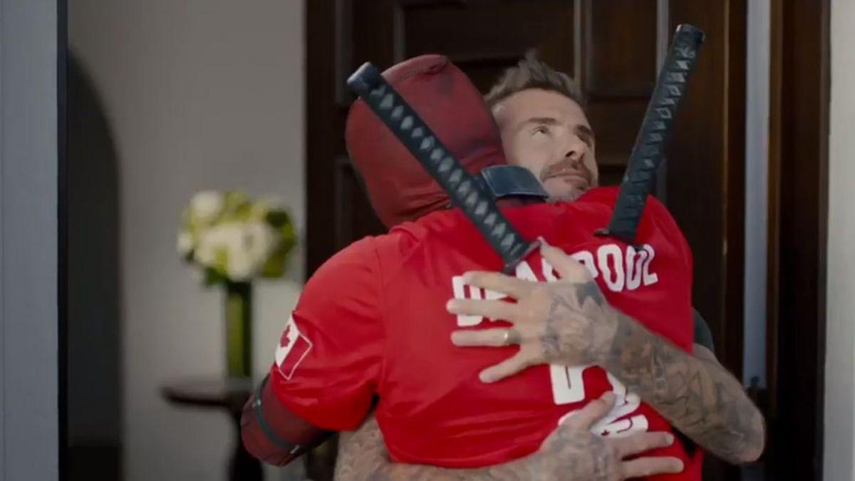 Deadpool pide perdón a David Beckham pero la respuesta del exfutbolista no tiene desperdicio