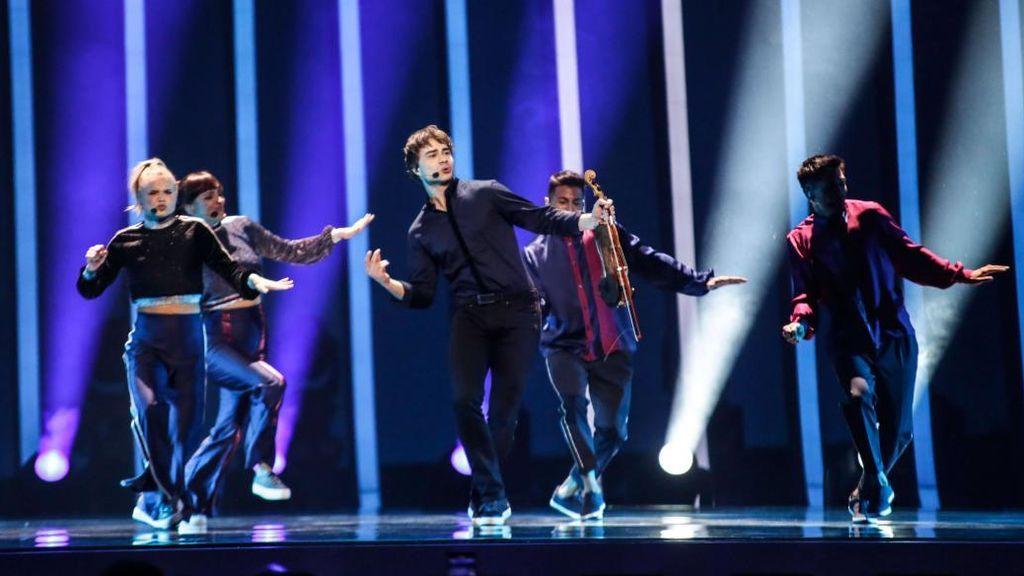 Noruega en la segunda semifinal de Eurovisión 2018.