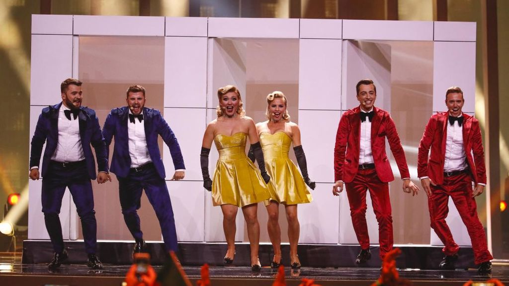 Moldavia en la segunda semifinal de Eurovisión 2018.
