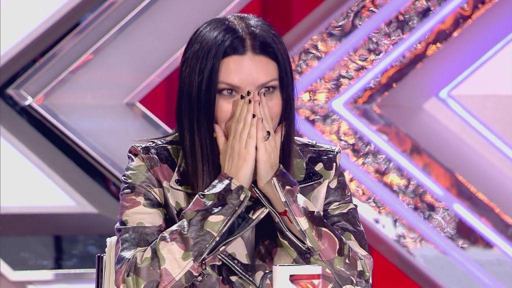 """Laura Pausini, sobre su papel de jueza en 'Factor X': """"Me cuesta mucho decirle 'no' a alguien"""""""