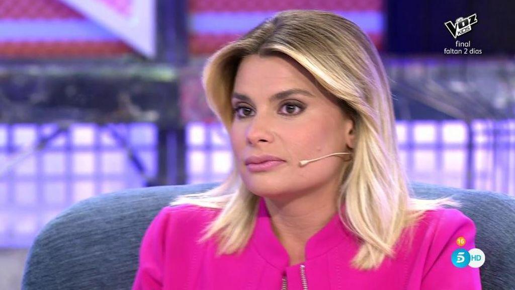 """María Lapiedra: """"He cambiado el bombín de casa porque ya es mía y no me fío de Mark"""""""