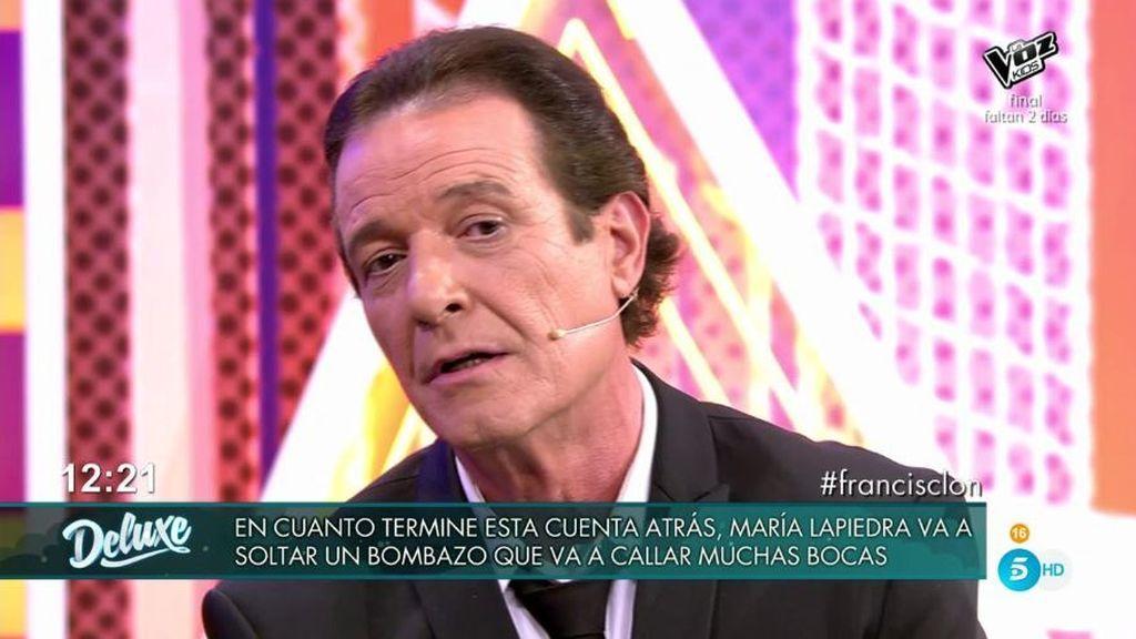 """Juan Ramón, a Paca, la mujer de Francisco: """"La verdad se tiene que saber y te salpica"""""""