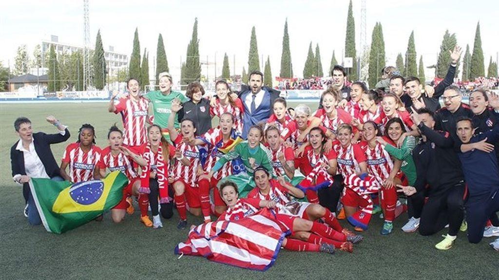 El Atlético de Madrid Femenino conquista su segunda Liga Iberdrola