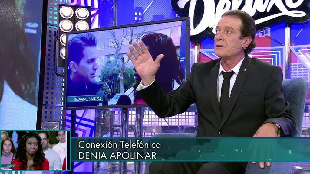 """Juan Ramón confirma su relación con Denia Apolinar y esta entra en directo: """"Te voy a poner una demanda"""""""