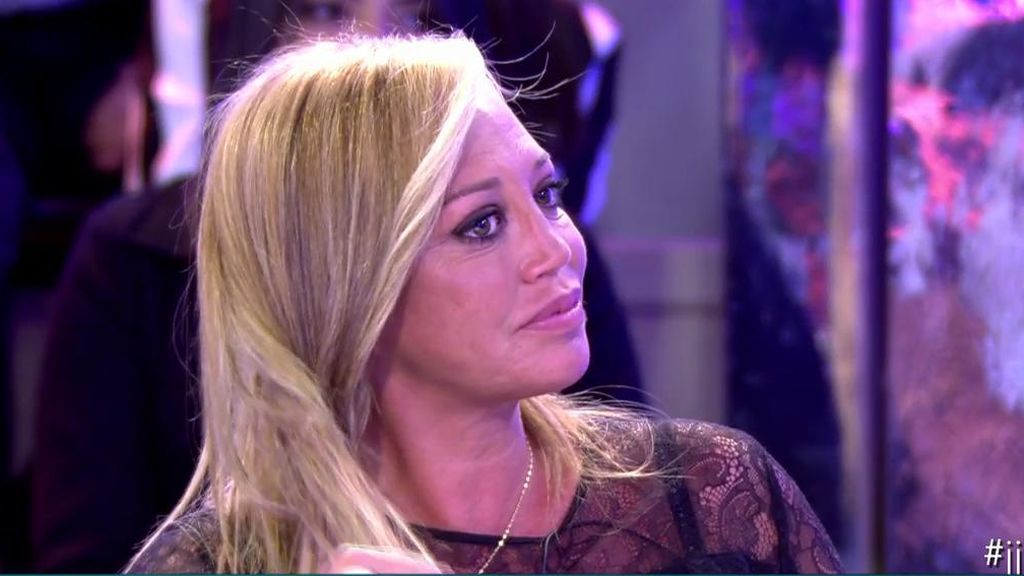 Belén Esteban, al borde de la lágrima cuando Jorge Javier reconoce no arrepentirse de haber sido crítico con ella