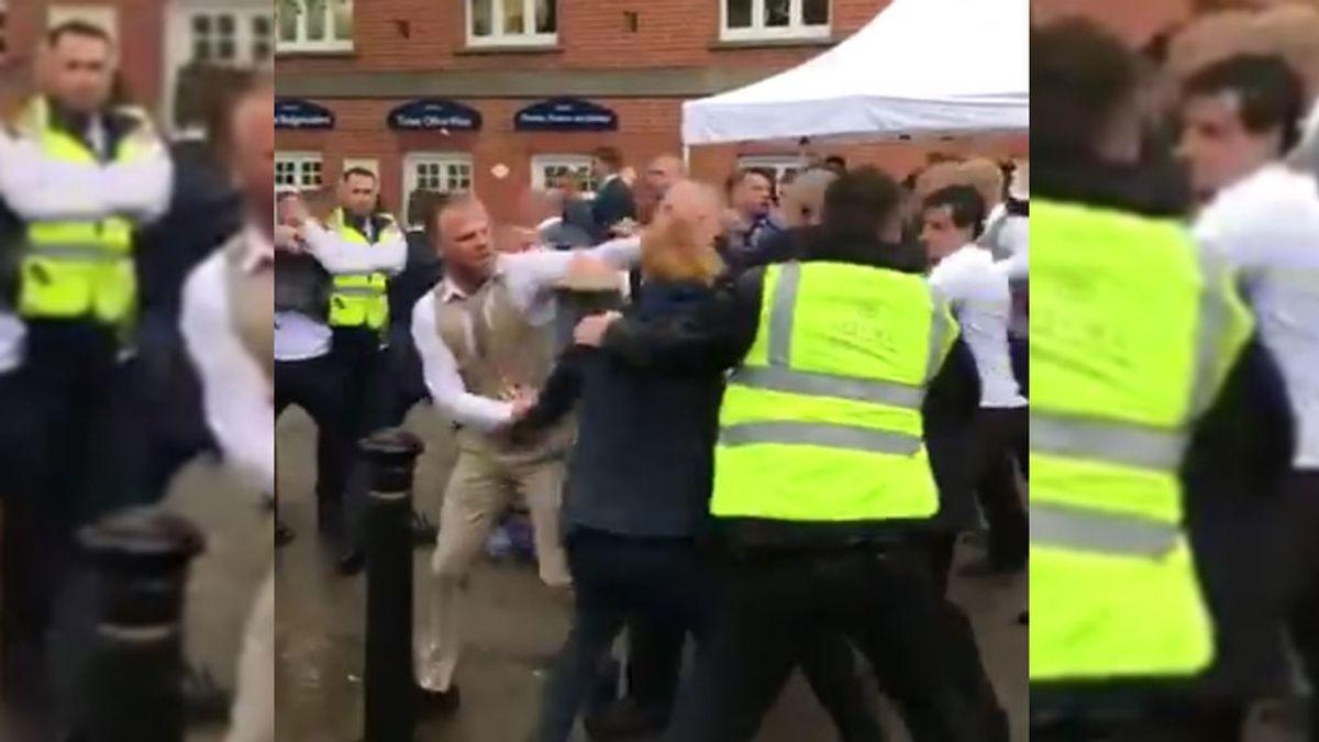 Inglaterra alucina con una brutal y vergonzosa pelea en el hipódromo de Ascot