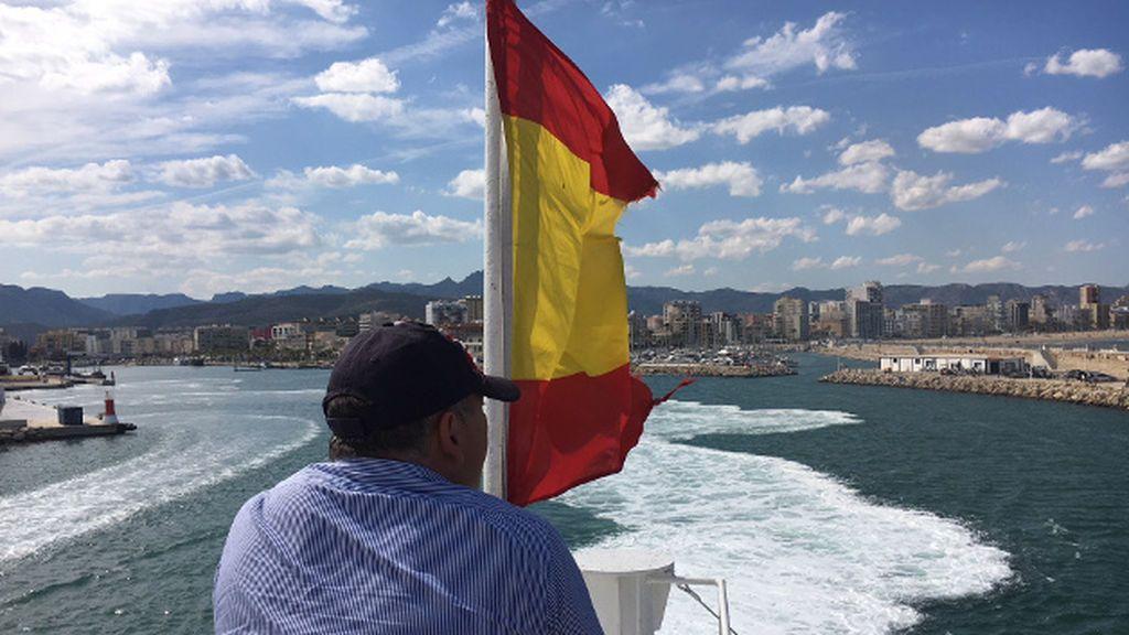 Viaje al puente de mando de un barco de Alta Velocidad