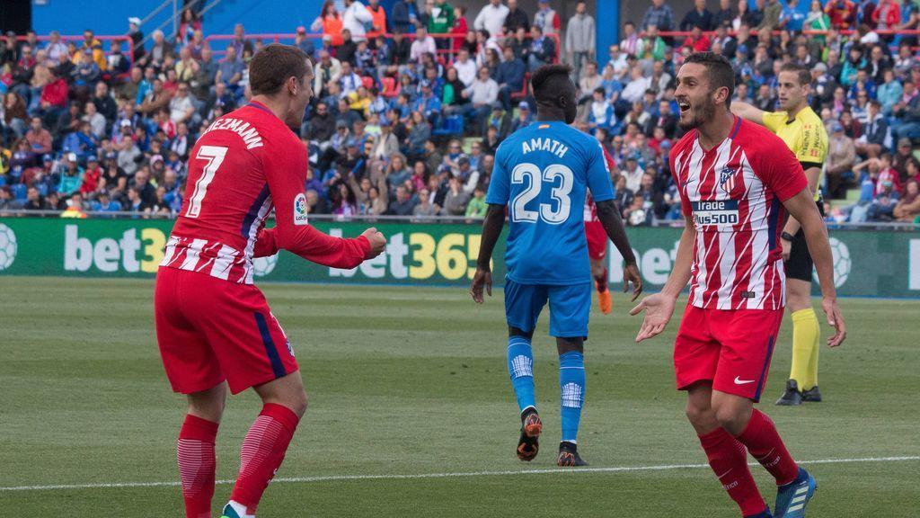 Oblak vuelve a aparecer y hace que Atlético afiance la segunda plaza (0-1)