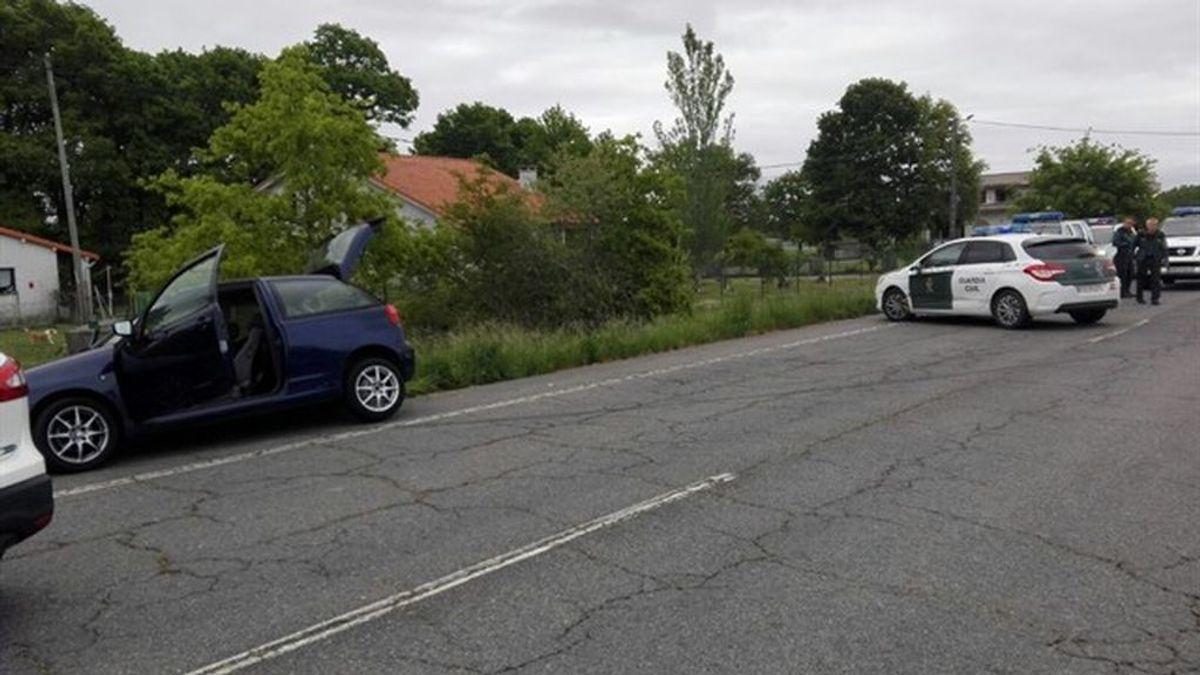Detenidos tras huir de un control de alcoholemia y embestir un coche de la Guardia Civil