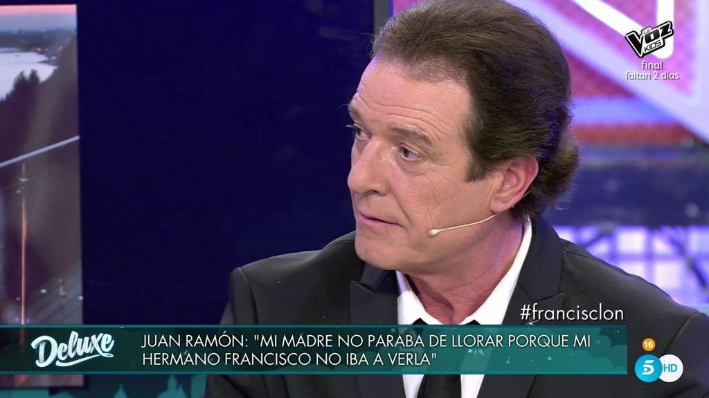"""Juan Ramón, sobre Francisco: """"No perdonaré a mi hermano que haya hecho sufrir a mi madre"""""""