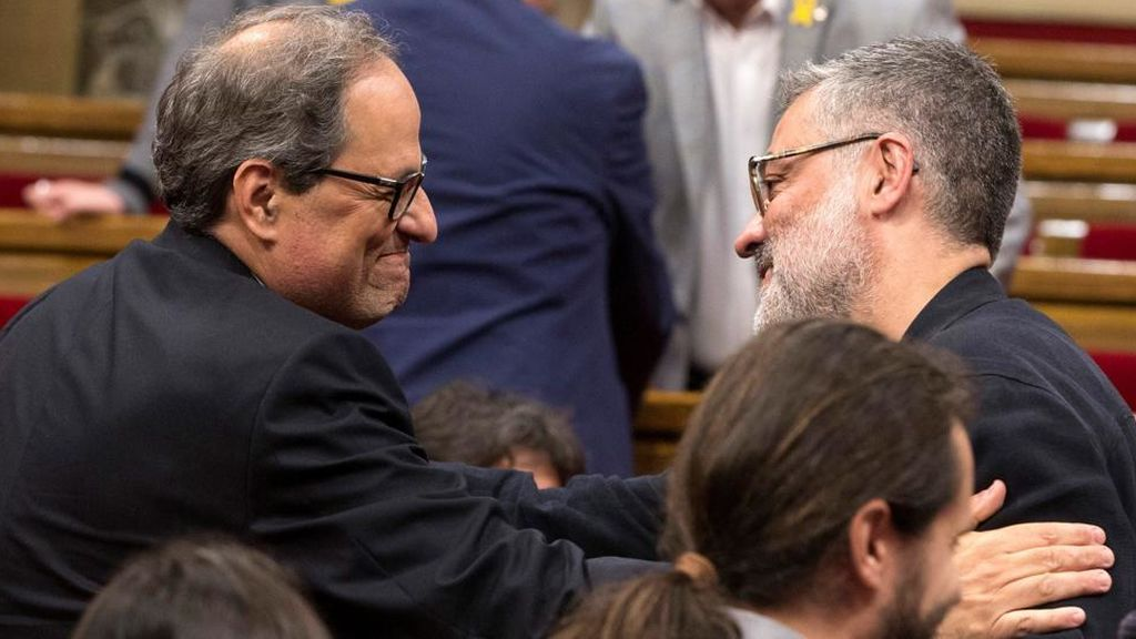 La CUP decide hoy si respalda o rechaza la candidatura de Torra