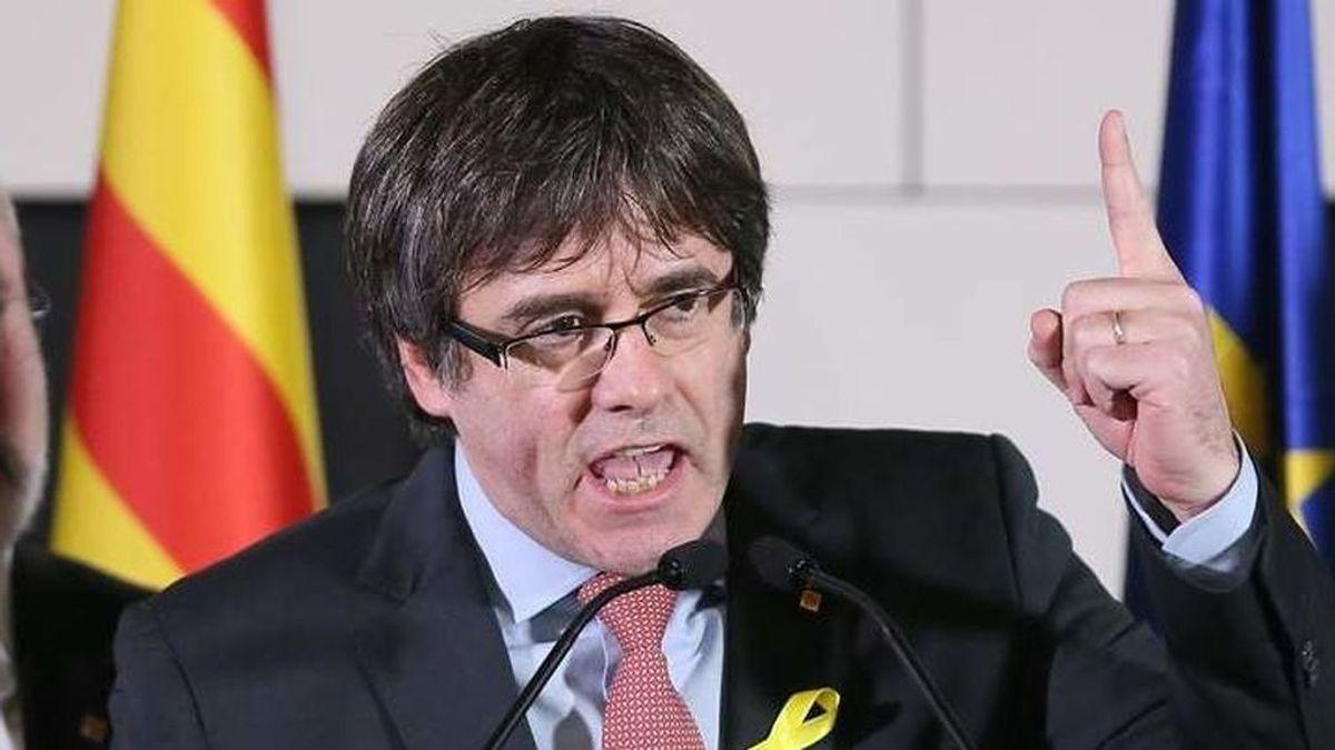 """Puigdemont: Torra convocará elecciones en 5 meses si el Estado """"sigue la persecución"""""""