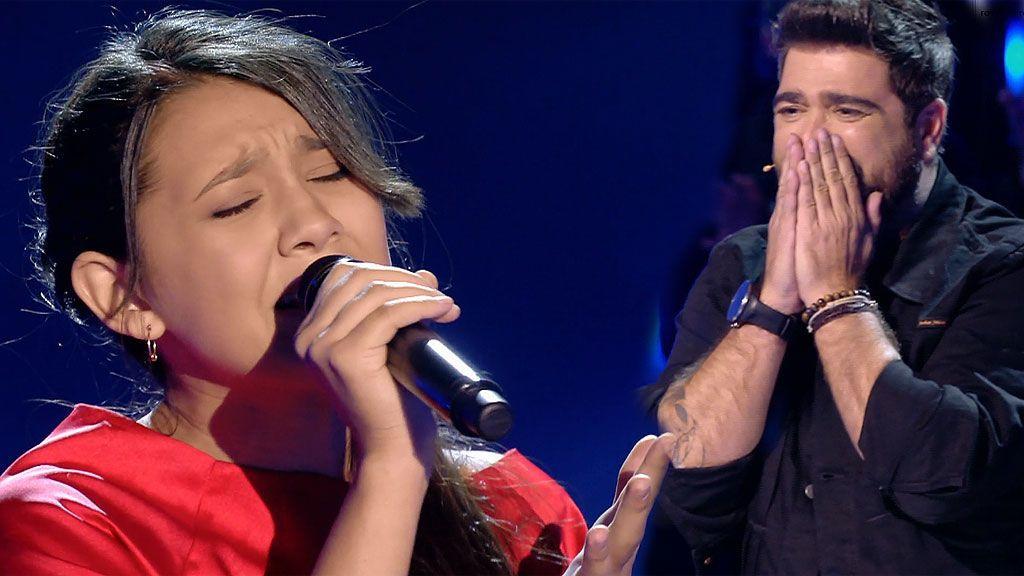 ¡Queremos Flori, queremos Flori! La finalista de Orozco canta en castellano tan bien o mejor que en inglés