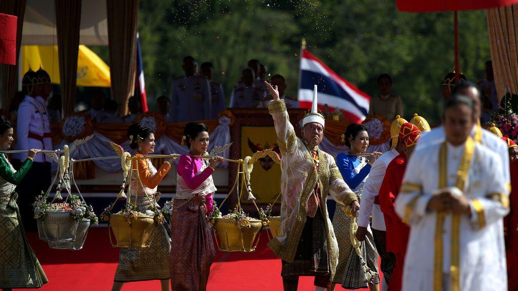 Ceremonia de labranza real en Tailandia