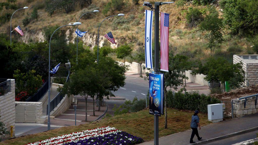 Nueva embajada de Estados Unidos en Jerusalén