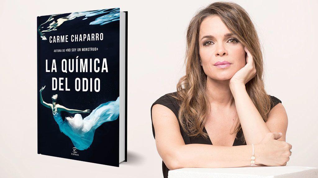 'La química del odio' la segunda novela de Carme Chaparro