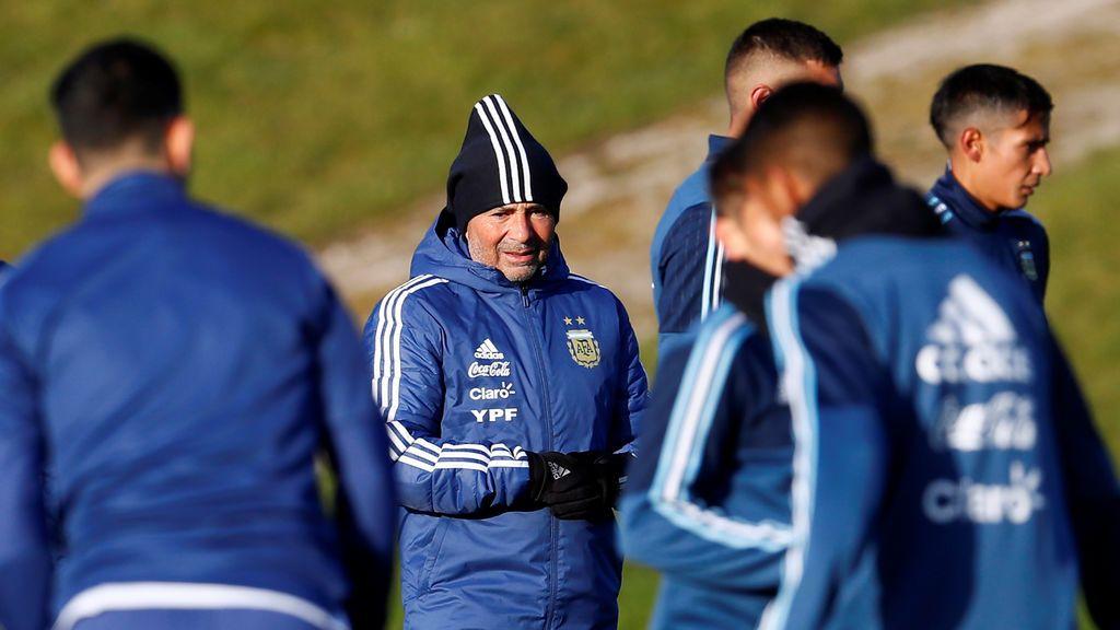 Sampaoli presenta la pre-lista de Argentina para el Mundial: Icardi y Lautaro, novedades