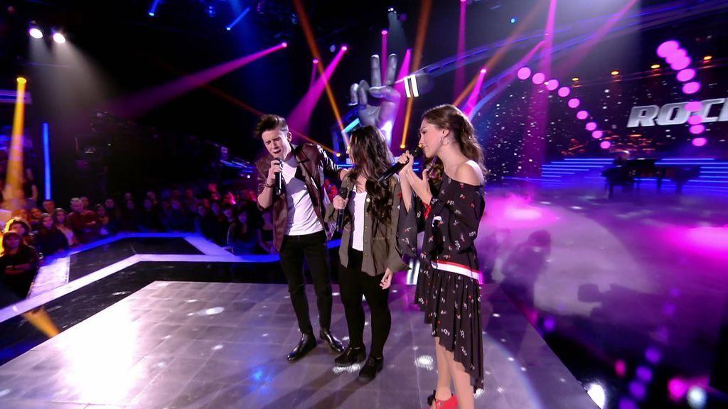 ¡Qué sorpresa!: María Parrado, José María y Rocío reaparecen cantando en la final de 'La Voz Kids'