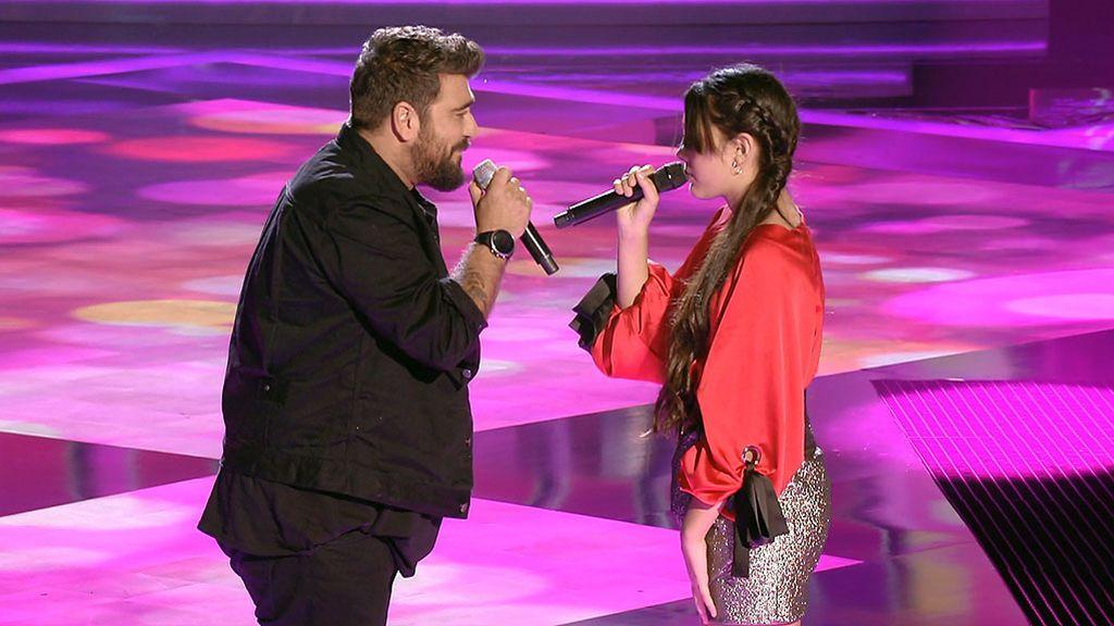 ¡Alucinante! Flori y Antonio Orozco cantan juntos 'What you´re made of'